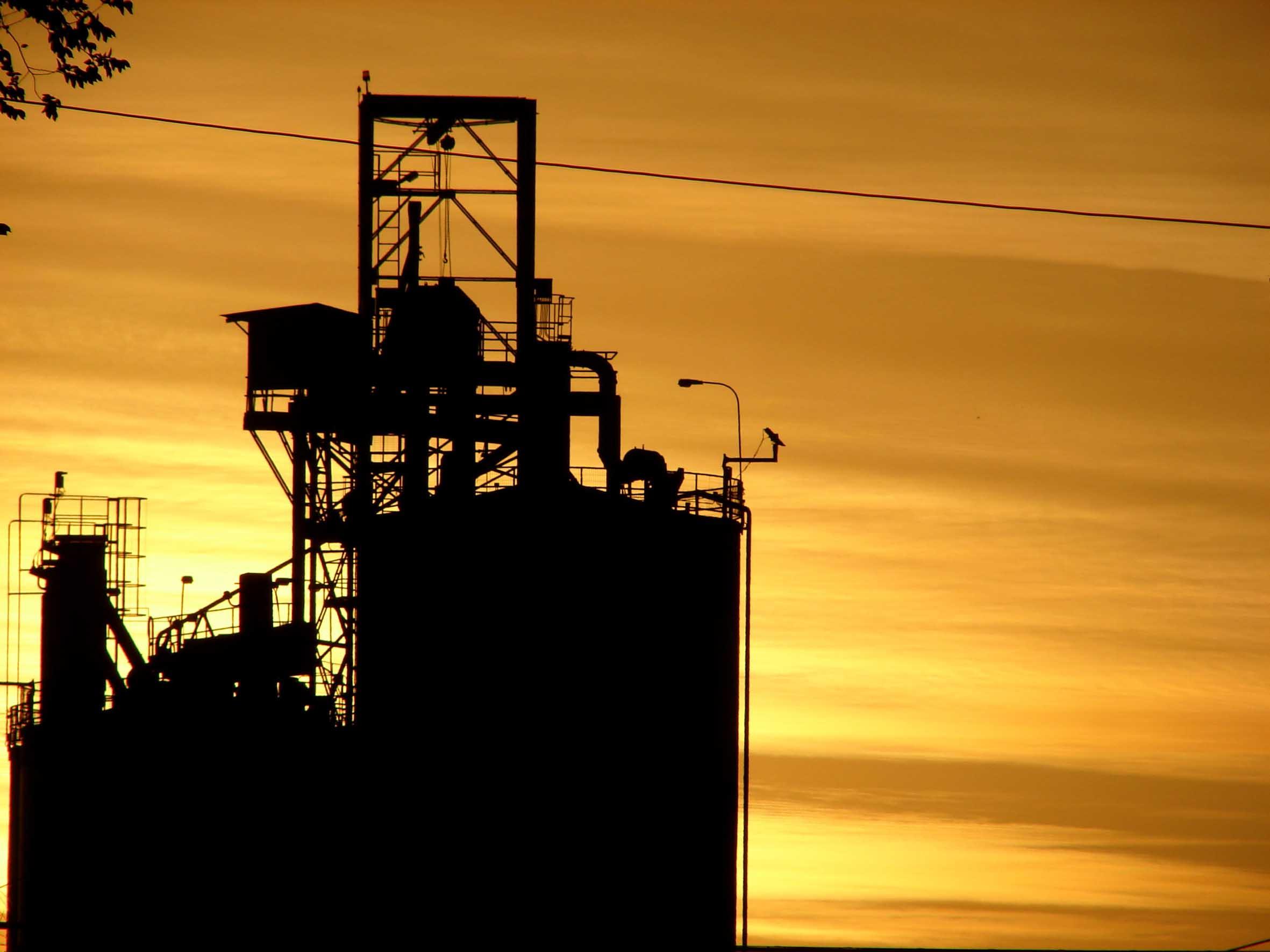 photo sunset-factory2